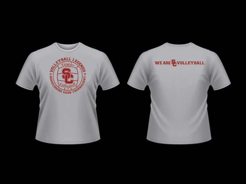 USC Volleyball Event TShirts