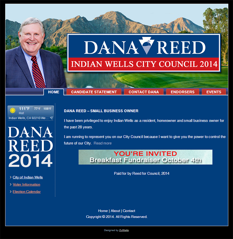 Dana Reed for City Council