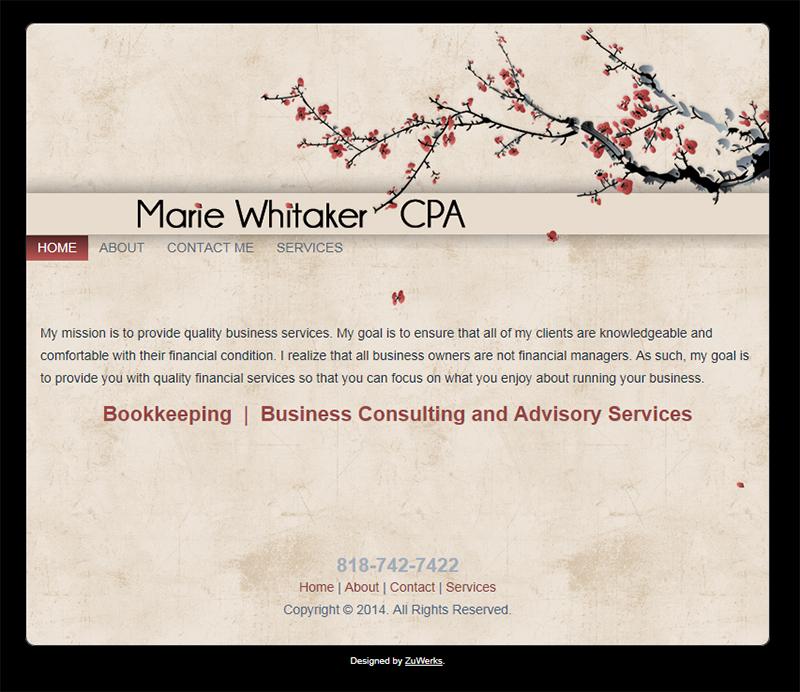 Marie Whitaker CPA