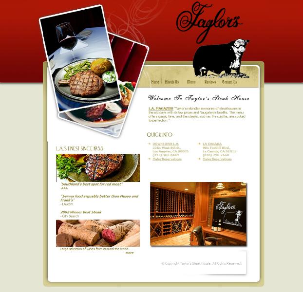 Taylors Steak House